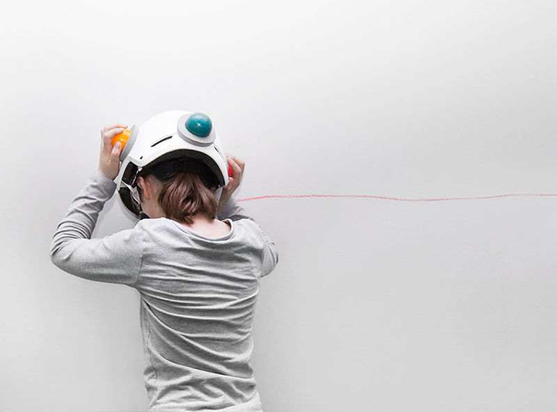 Drawing Crayon Helmets