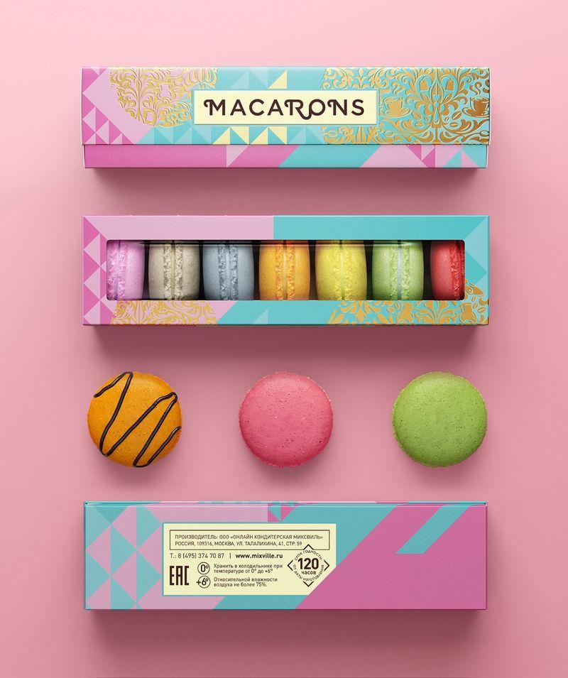 Pastel-Hued Pastry Rebrands