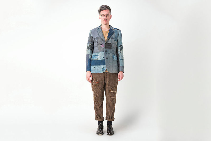 Eclectic Patchwork Menswear