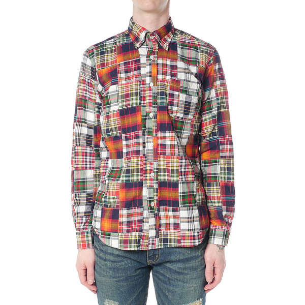 Luxurious Patchwork Shirts