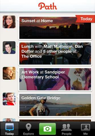 path iphone app