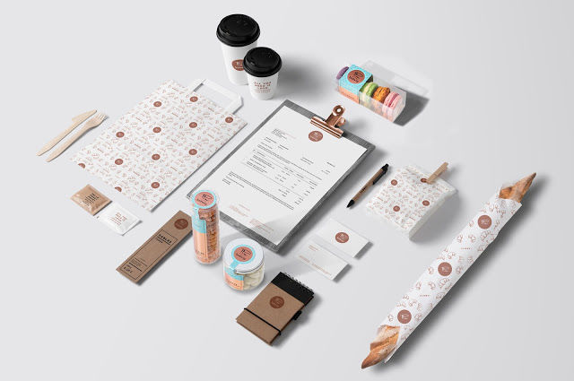 Whimsical Patisserie Branding