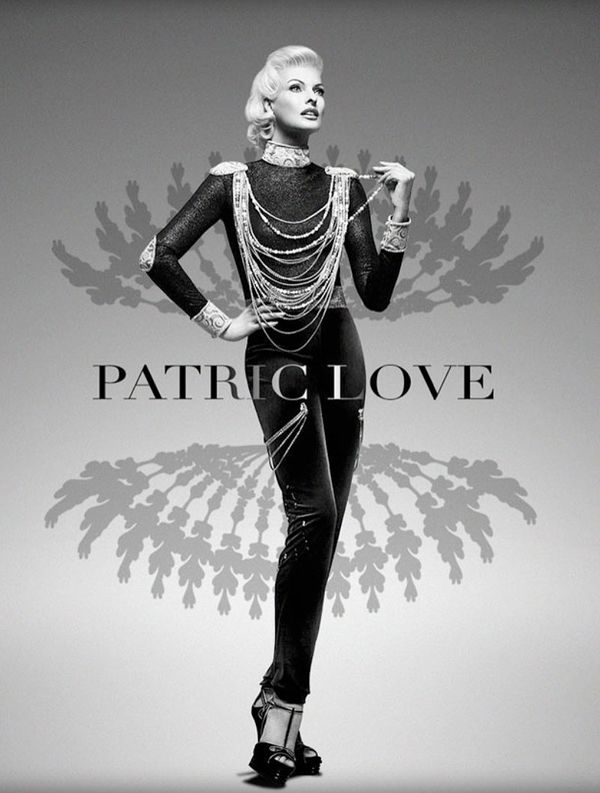 Glamorously Grayscale Fashion Ads Patric Love Spring 2014