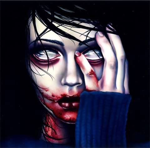 Eerie Eyeless Artworks