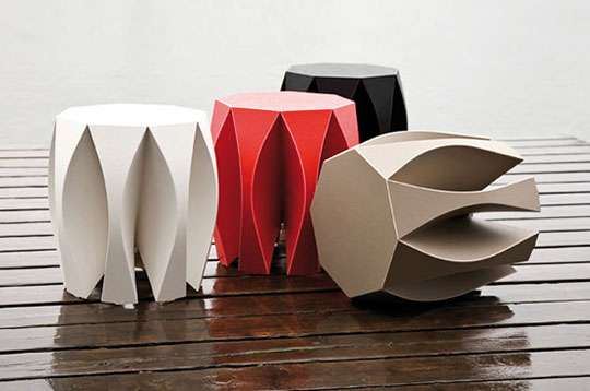Drum-Like Stools