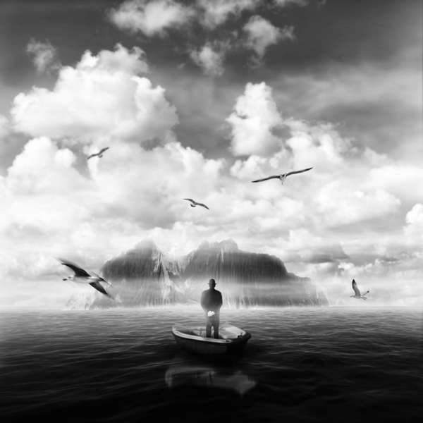 Fantastical Grayscale Photography