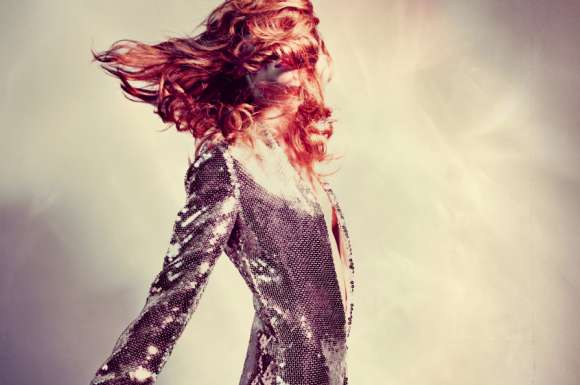 Glittering Fashion Shoots