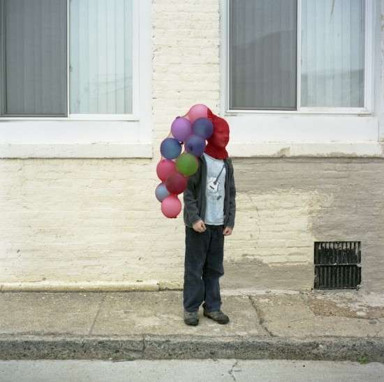 Bizarre Balloon Photography