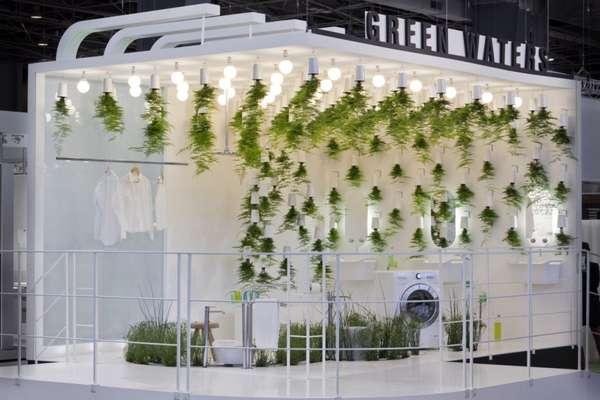 Grassy Bathroom Installations