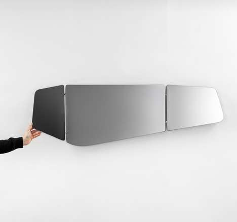 Patrick Norguet Tryptique Mirror