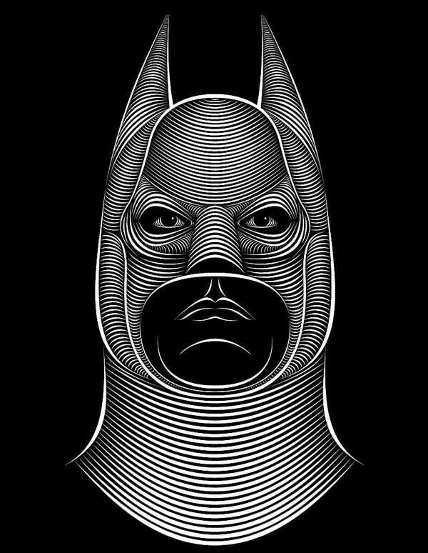 Zebra-Patterned Portraits