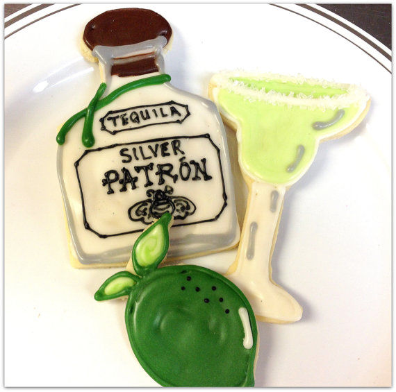 Boozy Margarita Cookies