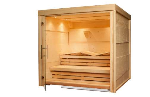 Luxurious Lumber Saunas