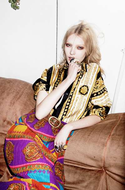 Patterned Stay-at-Home Photoshoots