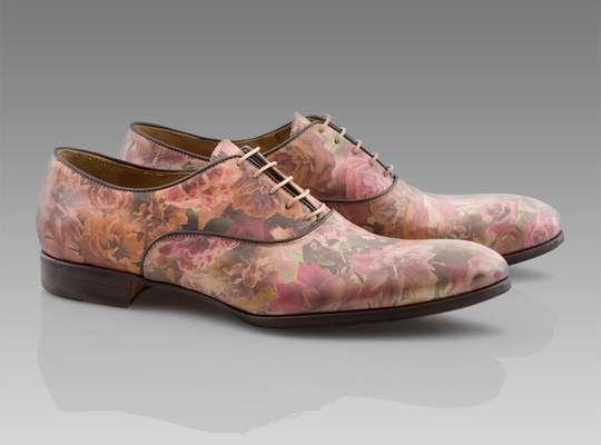 Floral Male Footwear