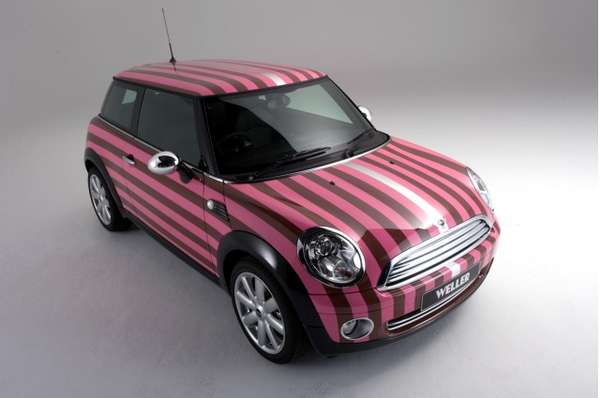 Paul weller mini cooper
