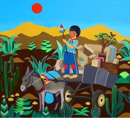 Whimsical Indigenous Illustrations