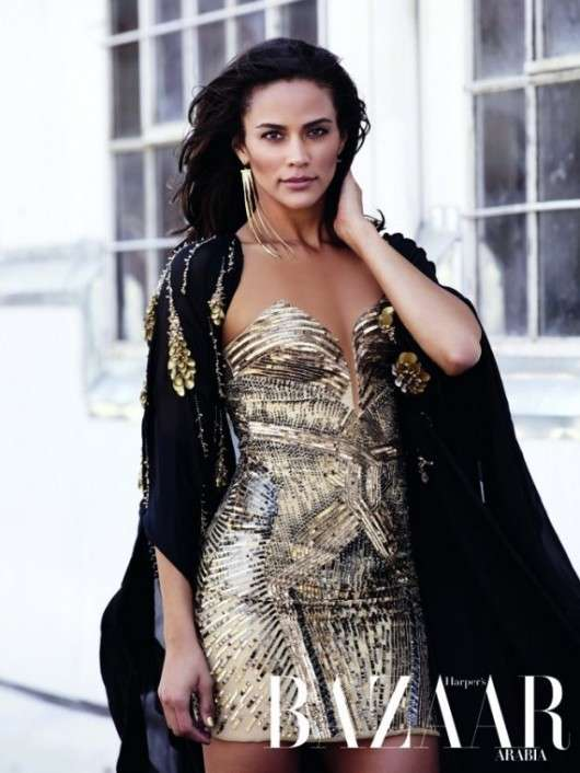 Paula Patton Harper's Bazaar Arabia December 2011