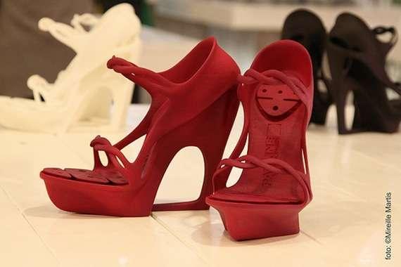 Printed 3D Nylon Shoes