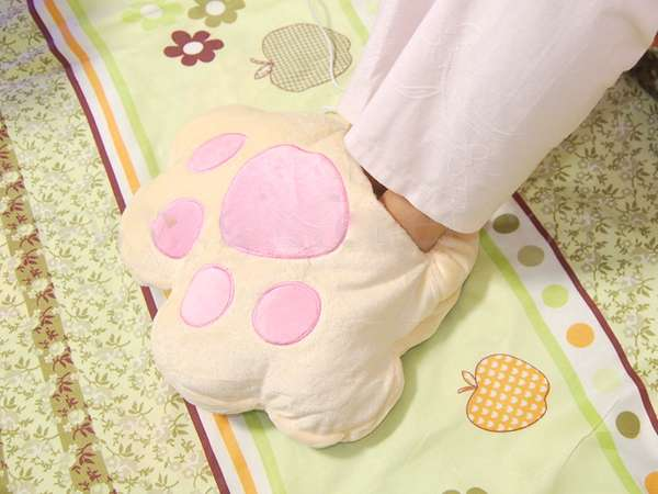 Paw-Shaped Foot Warmers