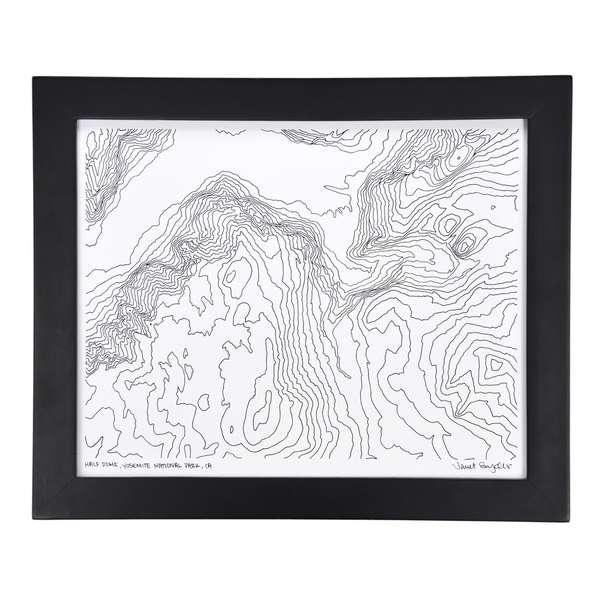 Minimalist Topography Designs