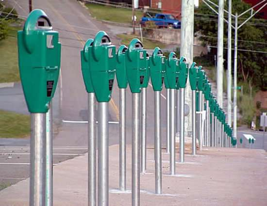 Textable Parking Meters