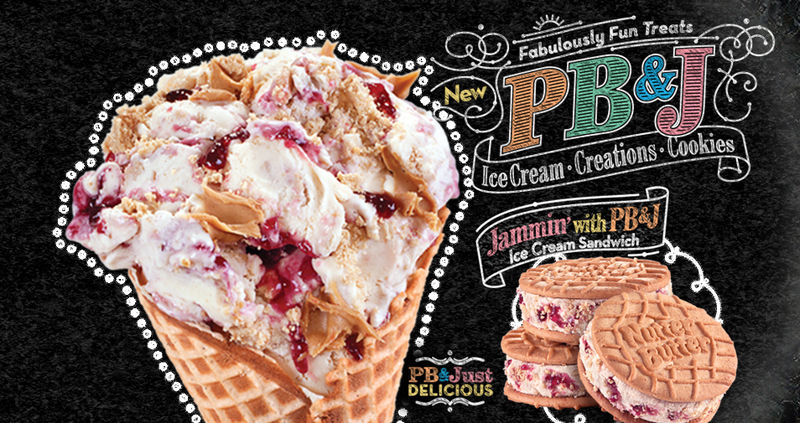 Icy PB&J Treats
