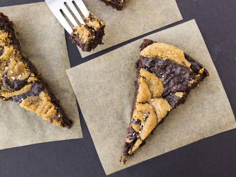 Nutty Vegan Brownies