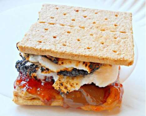 Sandwich-Inspired S'mores
