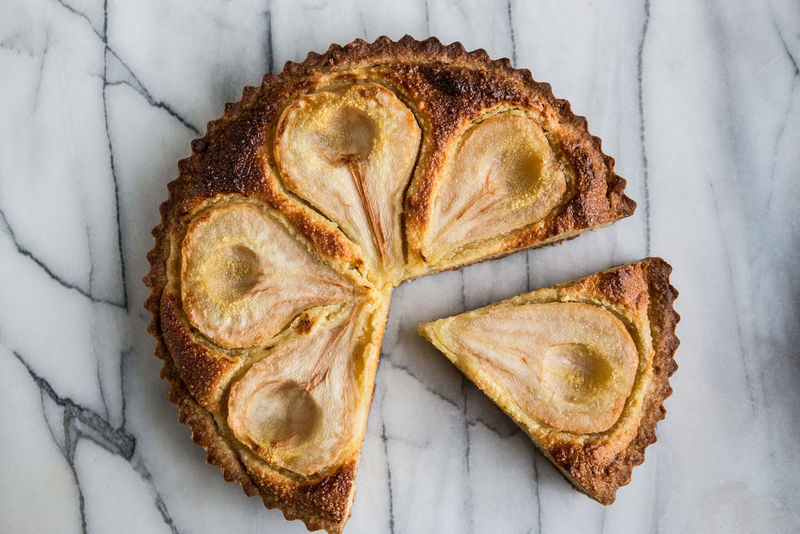 Autumnal Pear Tarts
