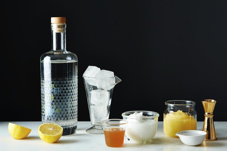 Frothy Yogurt Cocktails