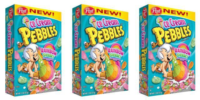 Ice Cream-Flavored Cereals