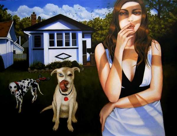 Modern Life Oil Paintings