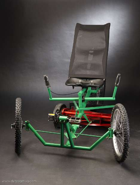 Pedal Powered Lawn Mower