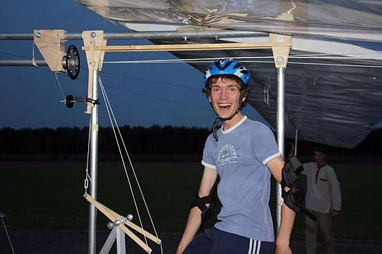 Pedal-Powered Planes