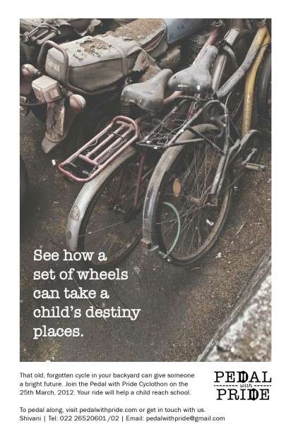 Bike-Donating Ads