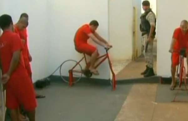 Pedal-Powered Prison Sentences