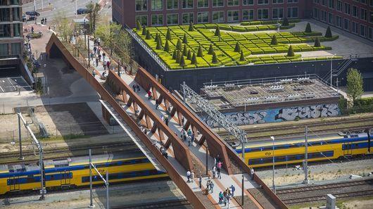 Aerial Pedestrian Bridges