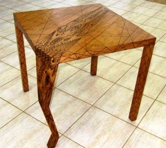 Tattooed Breakfast Tables