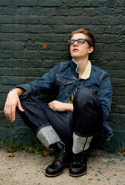 Geeky Denim-Enriched Editorials
