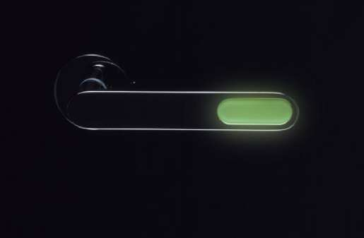 Lit-Up Locatable Doorknobs
