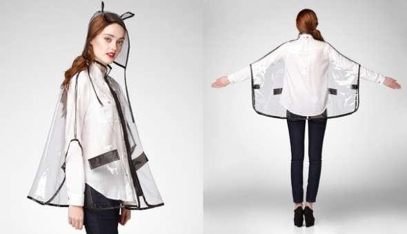 Feline-Inspired Rain Gear