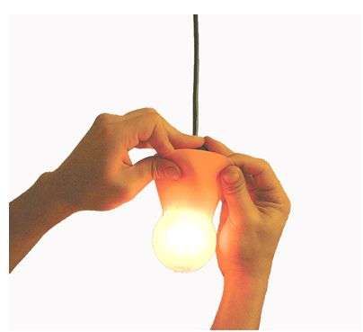 Peelable Lightbulb Lampshades