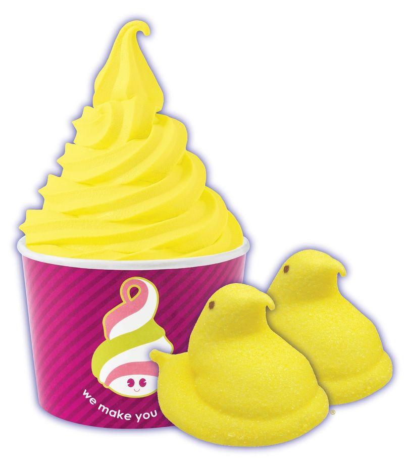 Easter-Themed Frozen Yogurt Menus