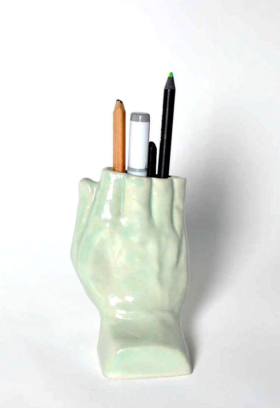 Finger-Less Pencil Holders