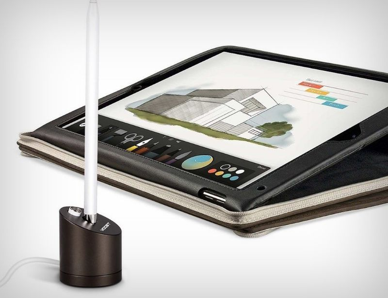 Stylus Charging Display Docks Pencil Stand