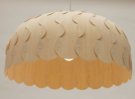 Overlapping Pendant Lamps