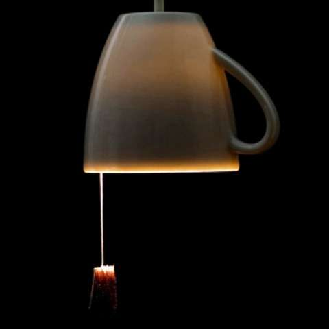 Tea Bag Lamps