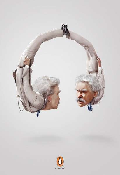 Literary Figure Headphones