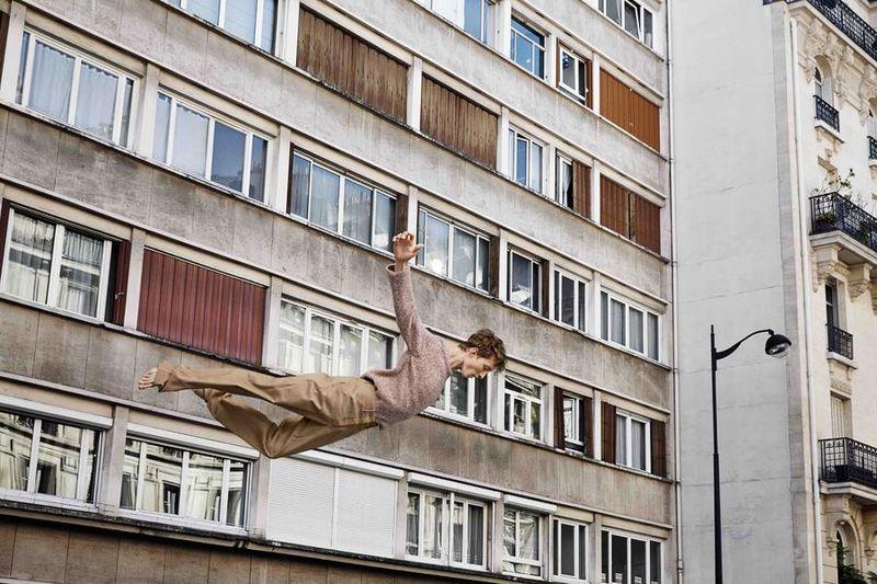 Elegant Falling Photography